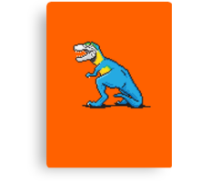 Pixevolution - Tyrannosaurus Macaw  Canvas Print