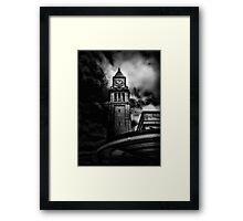 Clock Tower No 10 Scrivener Square Toronto Canada Framed Print