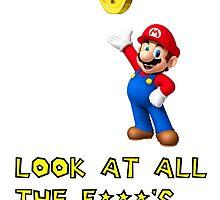 Super Mario  by NoSocialLife