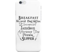 Second Breakfast Lord of the Rings iPhone Case/Skin