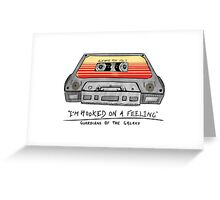 Awesome Mix Vol 1 Cassette Tape (Guardians of the Galaxy) Greeting Card
