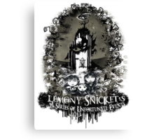 A Series of Unfortunate Events Canvas Print