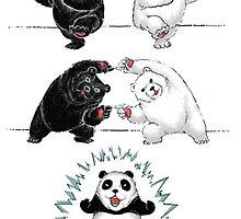 Panda Super Saiyan by Cookie money