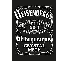 Heisenberg Pure Meth Photographic Print