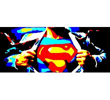 The Man of Steel Photographic Print