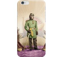 General Simian of the Glorious Banana Republic iPhone Case/Skin