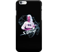 Electro Phi Beta Storm  iPhone Case/Skin