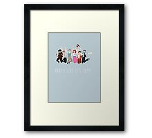 Party Like It's 1899 Framed Print