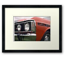 Ford Falcon XY GT Detail Framed Print