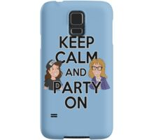 Keep Calm and Party On Samsung Galaxy Case/Skin