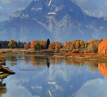 Mt. Moran by Ann  Van Breemen