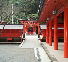 Japanese Shrine by ThroughJimsEyes