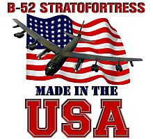 B-52 Stratofortress Made in the USA Photographic Print