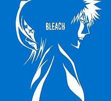 Ichigo and Rukia by Phoenix772