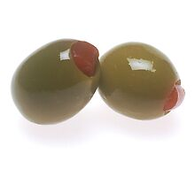 Green Olives by BravuraMedia