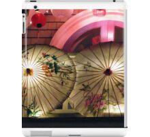 Roof Top Umbrellas iPad Case/Skin