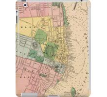 Vintage Map of Halifax Nova Scotia (1878) iPad Case/Skin
