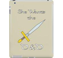She Wants the D&D iPad Case/Skin