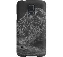 Spotted Owl Scratch Art Samsung Galaxy Case/Skin