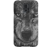 Portrait: Lone Wolf Samsung Galaxy Case/Skin