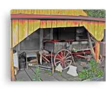 Your Wagon Has Lost It's Bumper Canvas Print