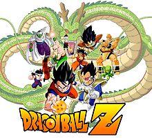 Dragon Ball Z Saiyan Saga by ssgoshin4
