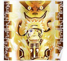 The Nine Tails Jinchuuriki Poster