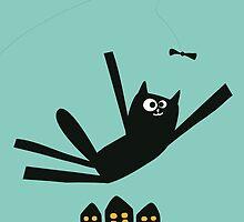 Oscar The Cat by jacekm