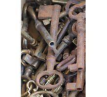 old keys Photographic Print