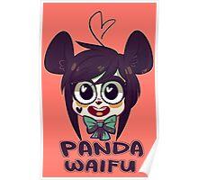 Panda Waifu Poster