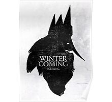 King is Coming Poster