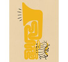 Tuba Bug Photographic Print