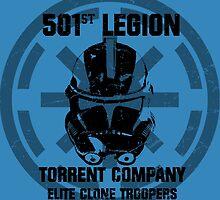 501st clone trooper legion by jamden37