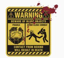 Mjolnir Warning Label Kids Clothes