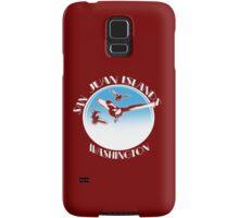 San Juan Islands, Washington Samsung Galaxy Case/Skin