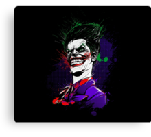 Why So Serious ? Canvas Print