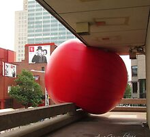 Red Bubble by Anne Guimond
