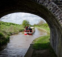 Shropshire Union Canal by Sue Martin