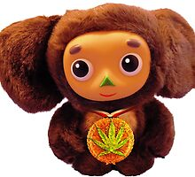 Cheburashka Marijuana Award by changetheworld