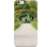 The Famous Monet Arches, Giverny, France iPhone Case/Skin