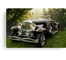 1935 Dusenberg SJ Convertible Coupe Canvas Print