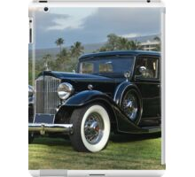 1933 Packard Super 8 Sedan iPad Case/Skin