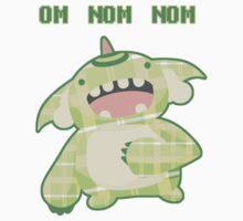 Omnomnom Monster by zerojigoku