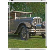 1926 Franklin Sport Touring Series 11 A iPad Case/Skin