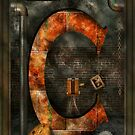 Steampunk - Alphabet - C is for Chain by Mike  Savad
