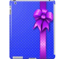 Purple Present Bow iPad Case/Skin