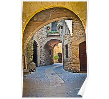 Medieval Arch Poster