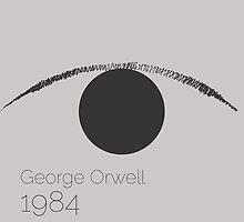 1984 - George Orwell  by sophieresia