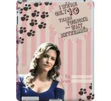 My Teenwolfed Valentine [If I Was 10 Years Younger...] iPad Case/Skin