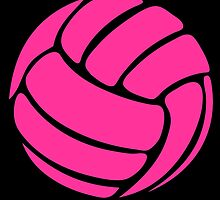 Pink Volleyball Pink by cpotter